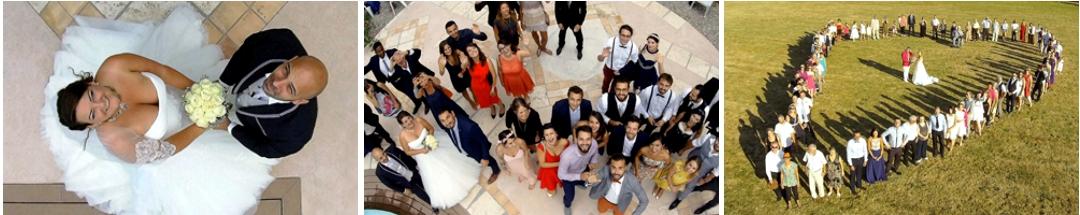 photo et vidéo de mariage par drone - www.pixair83.fr