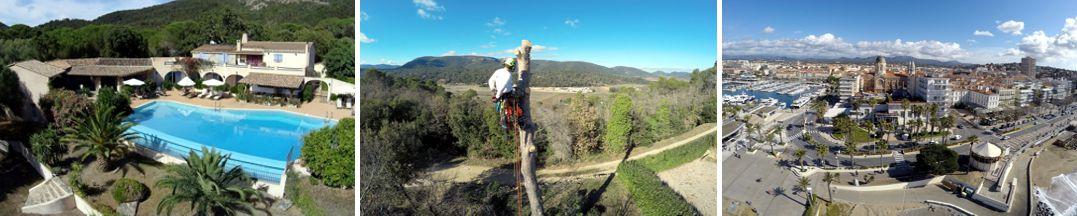 photo et vidéo par drone - publicité - www.pixair83.fr