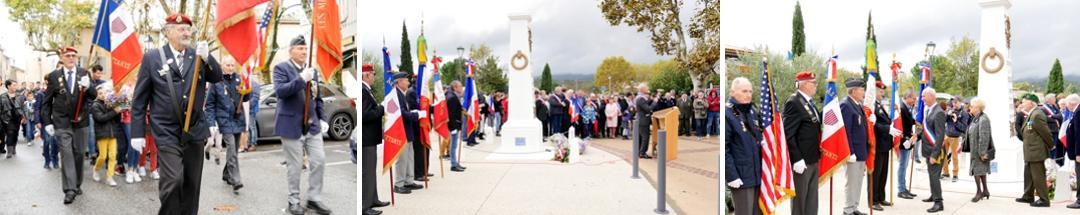 cérémonie du 11 novembre Néoules - www.pixair83.fr