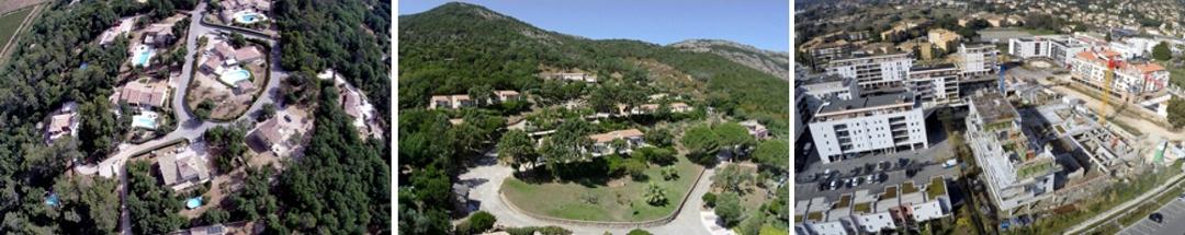 vue aérienne par drone - urbanisme - www.pixair83.fr