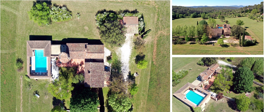 photo drone immobilier - www.pixair83.fr