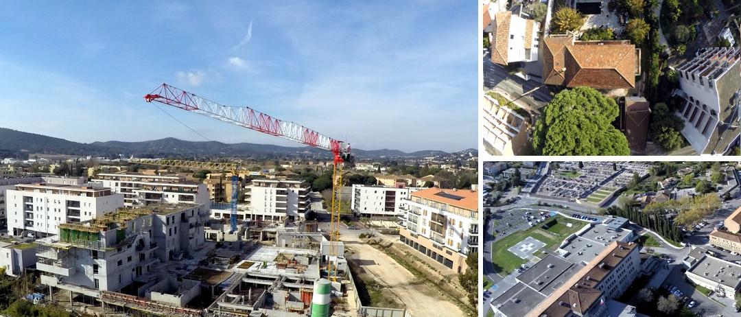 BTP photo par drone urbanisme - www.pixair83.fr